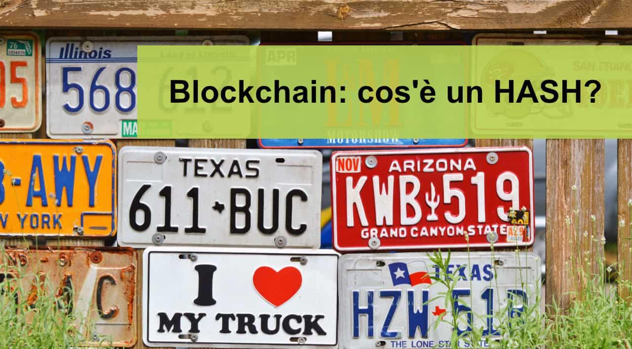 Blockchain: cos'è un HASH?
