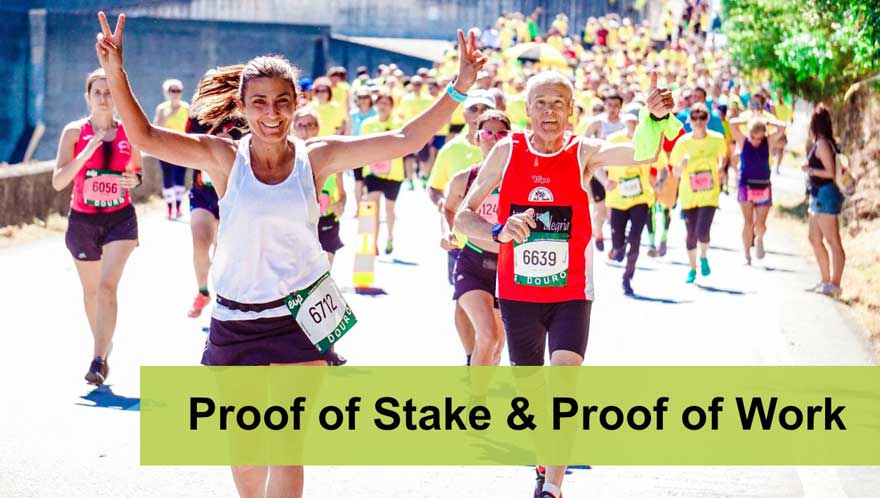 Read more about the article Proof of Stake & Proof of work