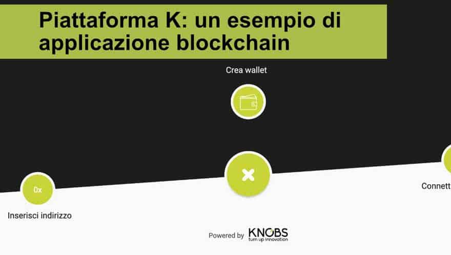 Read more about the article Piattaforma K: un esempio di applicazione blockchain